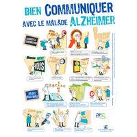 Livrets et posters sur la maladie d'Alzheimer, ses troubles et conséquences