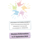 ATELIERS D'ACCOMPAGNEMENT ALZHEIMER